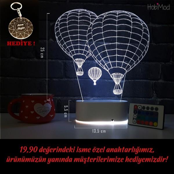 HobiMod Uçan Balonlar Ofis-Ev için Aydınlatma Lazer İşlemeli